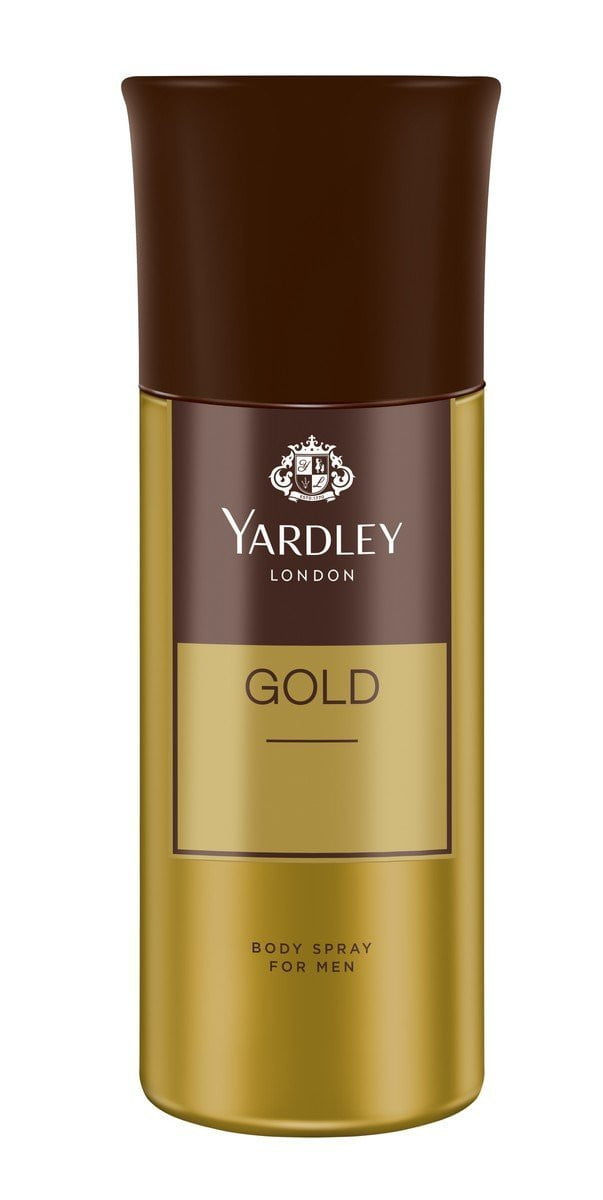 Yardley London Gold Body Spray For Men 150ml get best offers deals free and coupons online at buythevalue.in