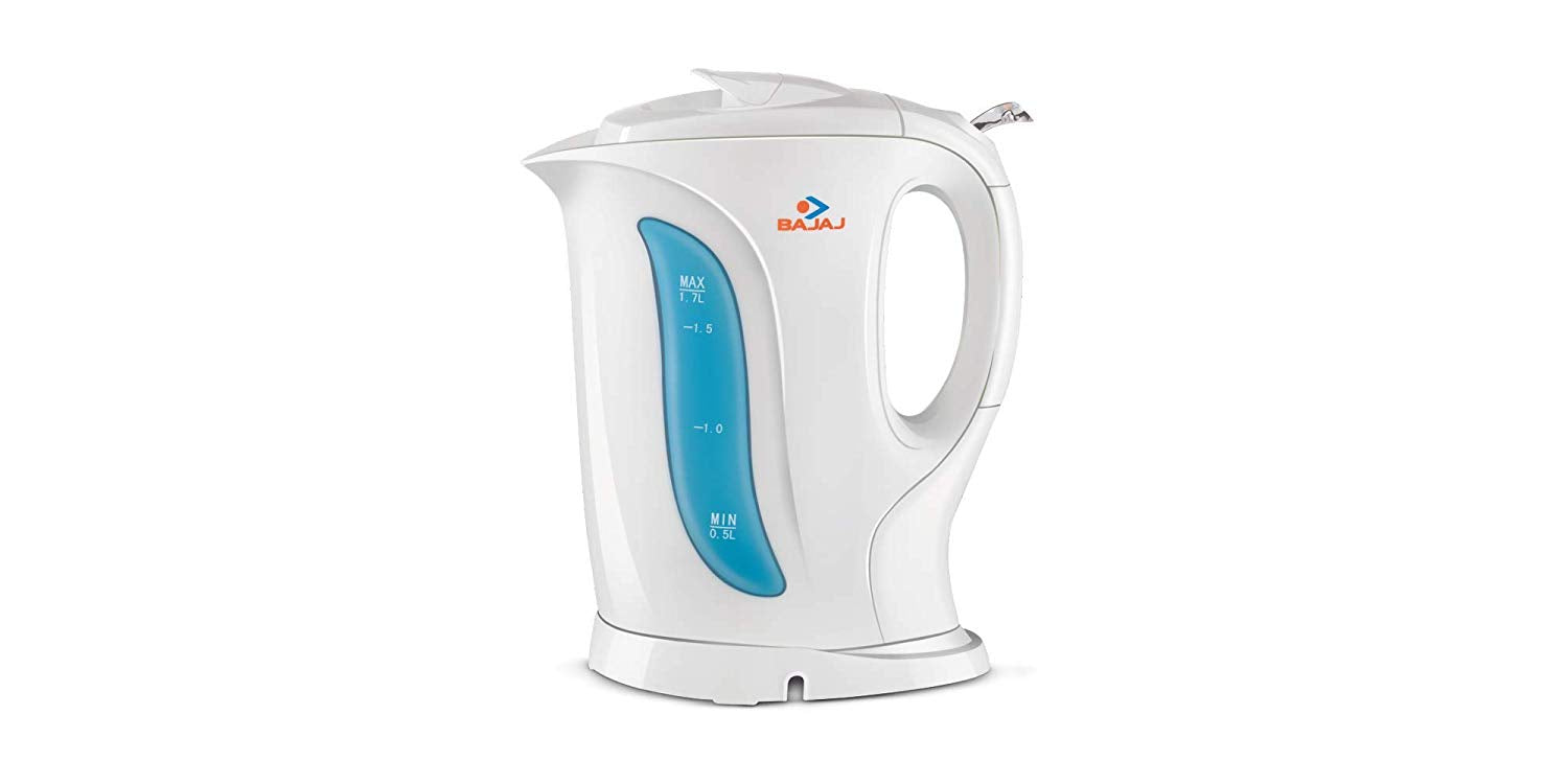 Bajaj 1.7L Non-Strix Electric Kettle get best offers deals free and coupons online at buythevalue.in