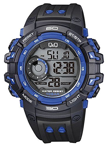 Q&Q Digital Watch For Men - M157J001Y get best offers deals free and coupons online at buythevalue.in