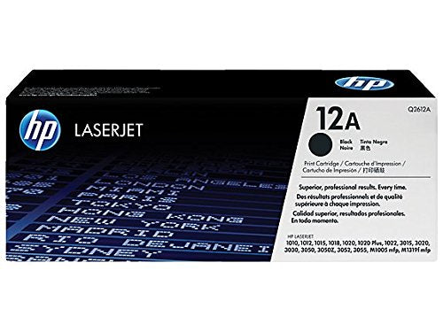 HP 12A Black Original Laserjet Toner Cartridge get best offers deals free and coupons online at buythevalue.in