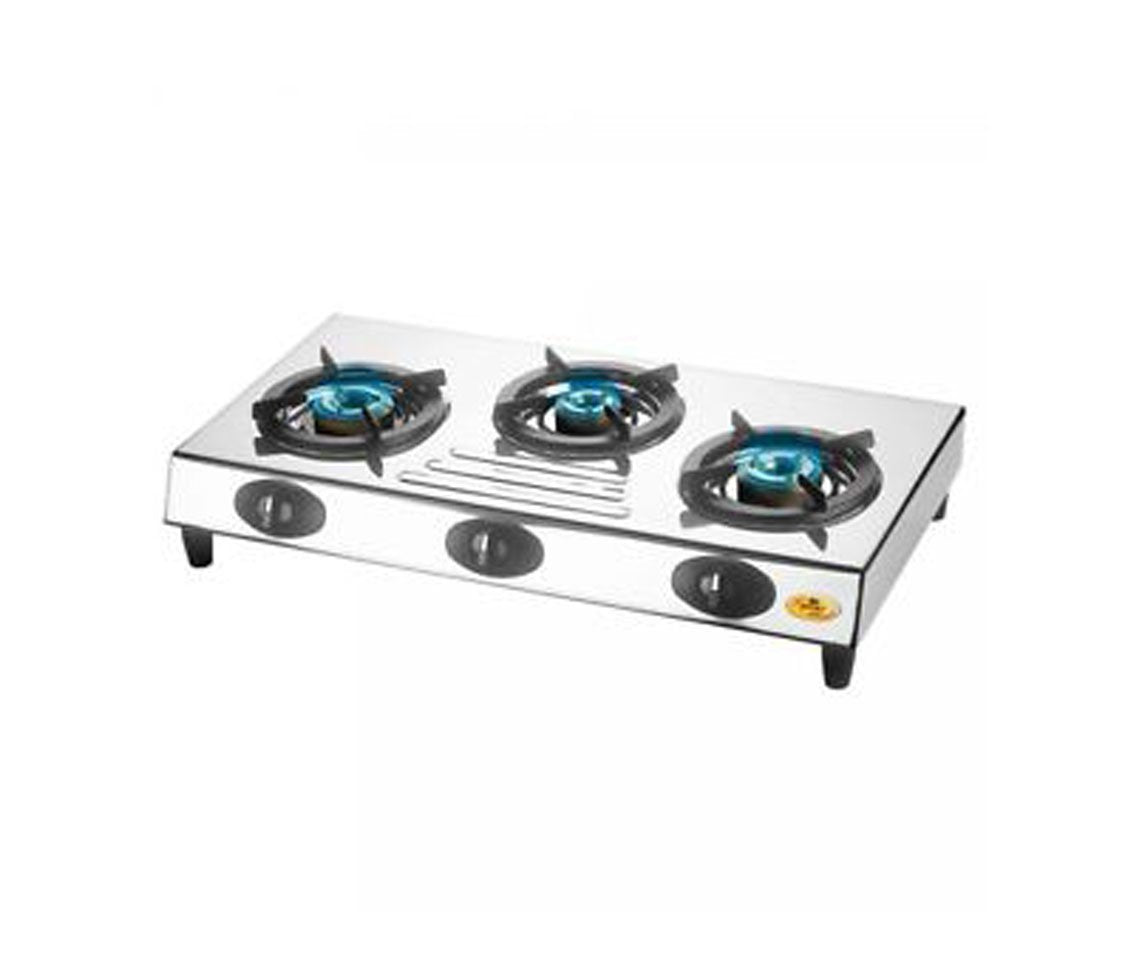 Bajaj 3 Burners gas stove - CX9get best offers deals free and coupons online at buythevalue.in