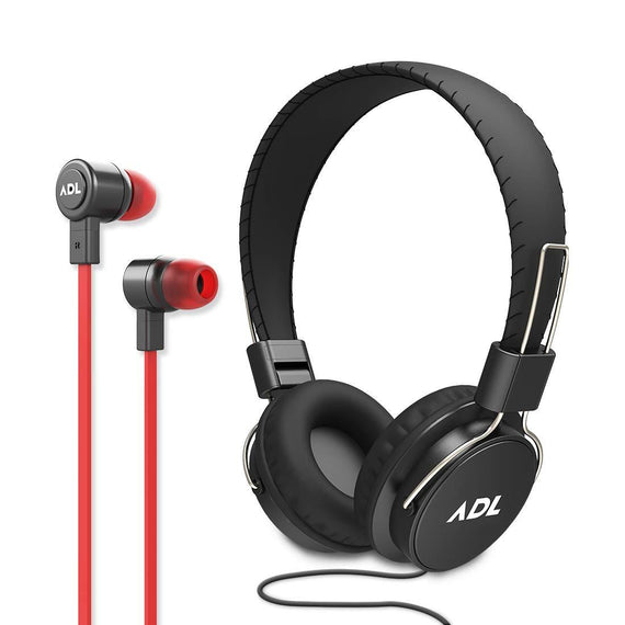 ADL Music 2 in 1 Combo Wired Headphone & Earphones (ADLS900) get best offers deals free and coupons online at buythevalue.in