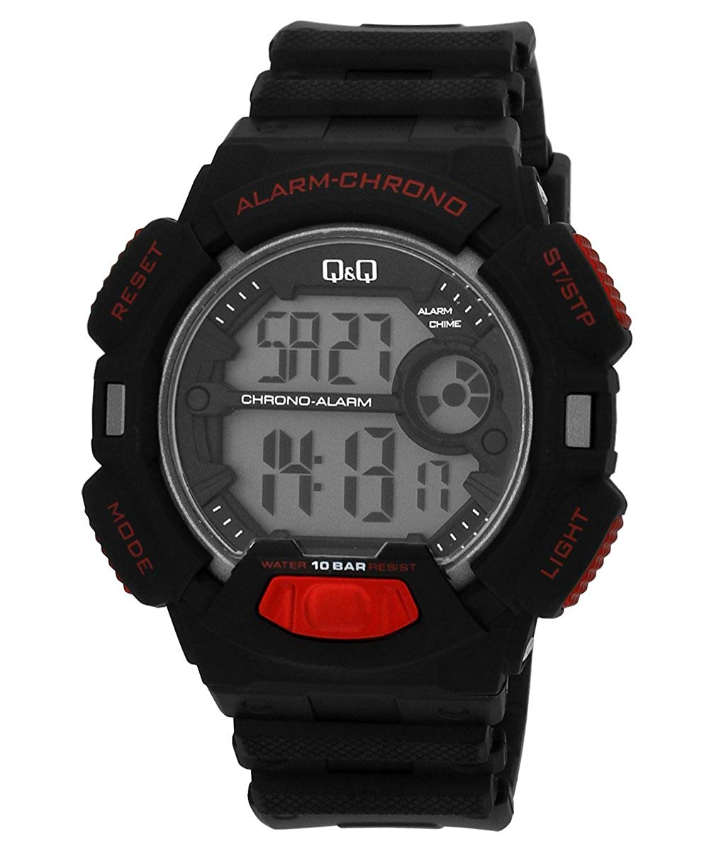 Q&Q Digital Grey Dial Men's Watch - M132J004Y get best offers deals free and coupons online at buythevalue.in