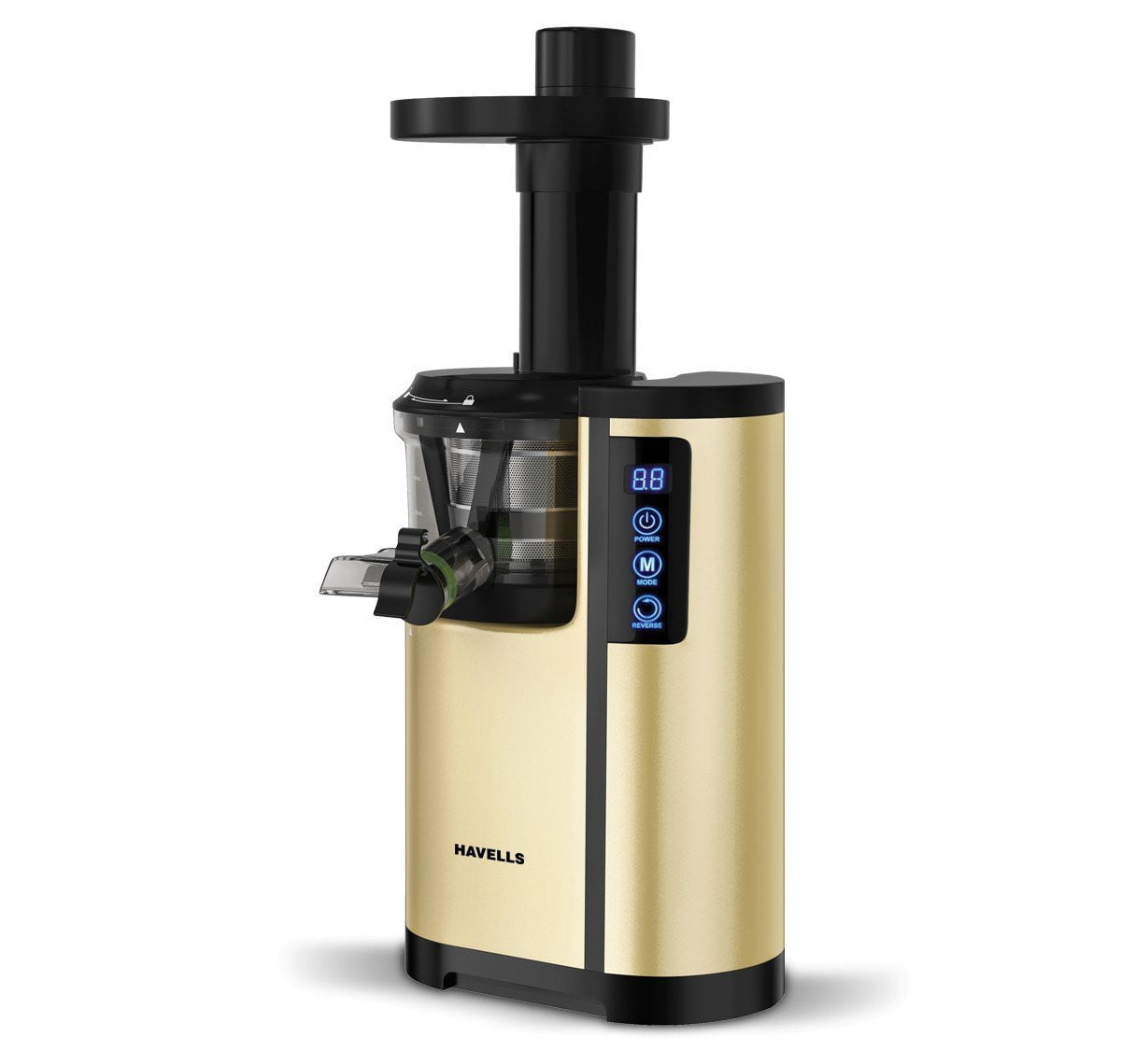 Havells Nutrisense 150W Cold Press Slow Juicer 150W, 47 RPM, Silent operation - Buythevalue.in