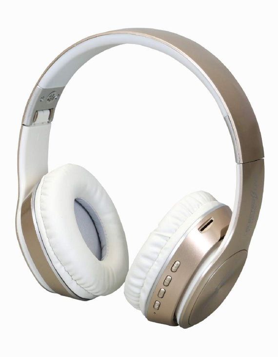 Electroline TM-058) Stereo Over-Ear Bluetooth Headphone with Mic