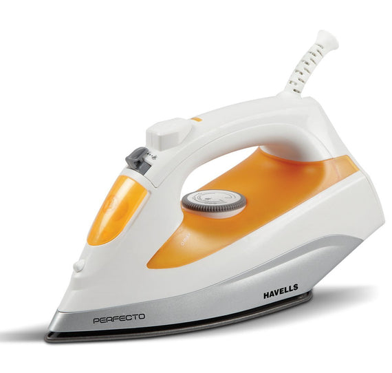 Havells Perfecto Steam Iron 1800W, Non Stick Coating, 300 Ml - Buythevalue.in