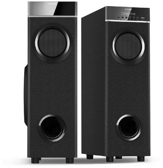 Philips in-SPA 9060B/94 Tower Speakers Black get best offers deals free and coupons online at buythevalue.in