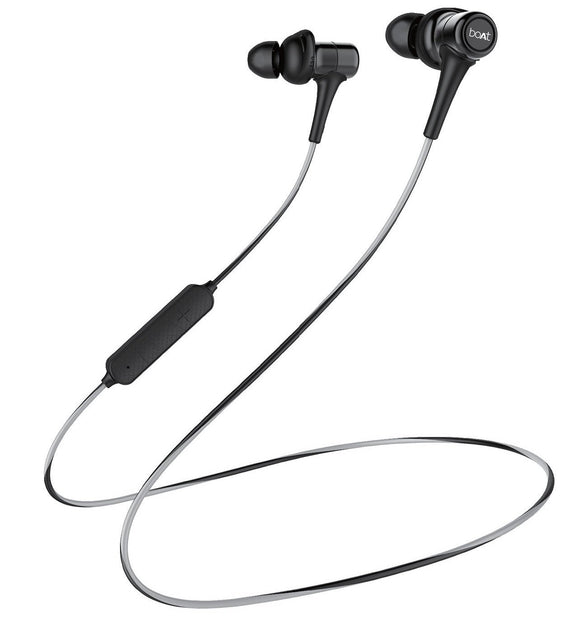 Boat Rockerz 285 Wireless In-Ear Sports Bluetooth Headphone Active Black get best offers deals free at buythevalue.in