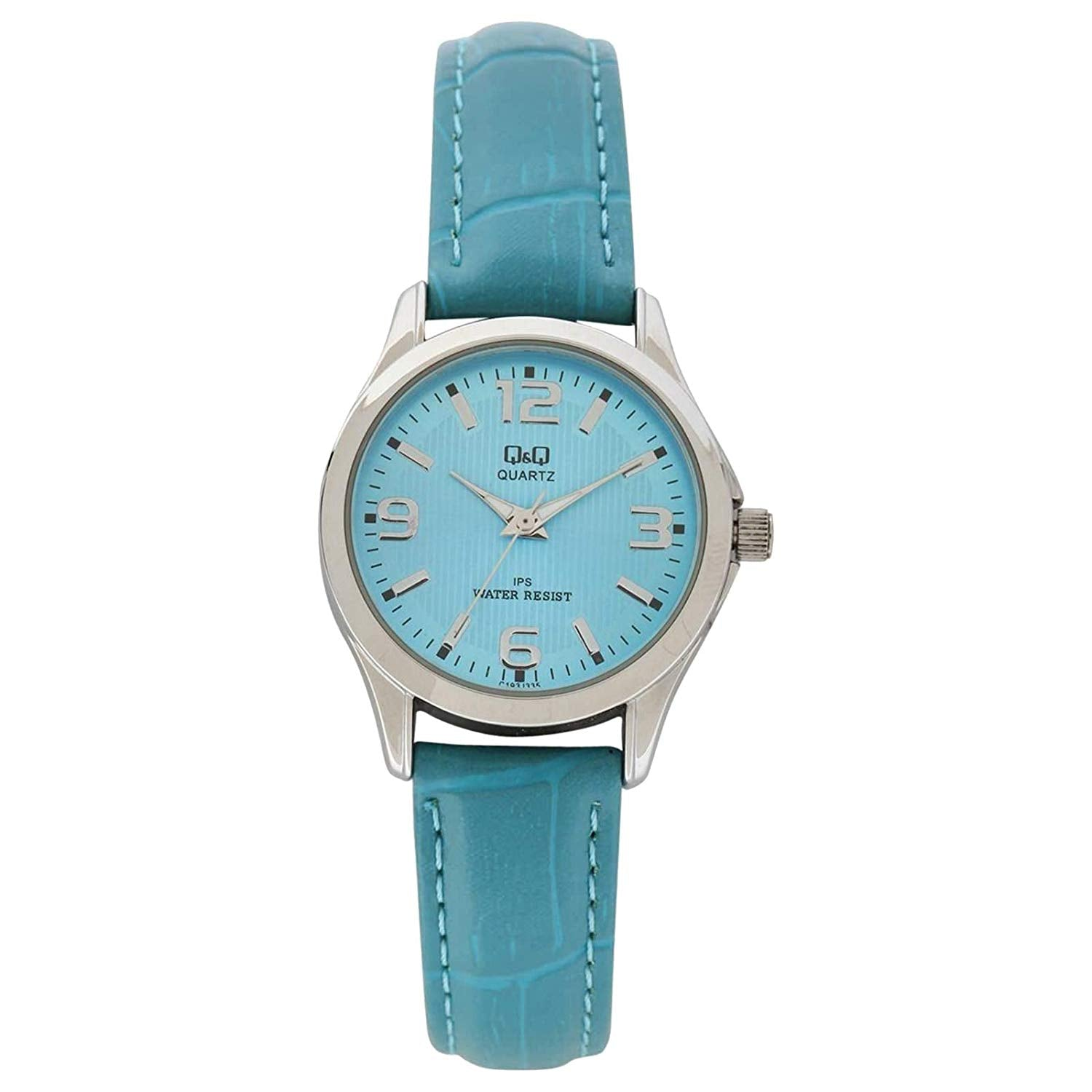 Q&Q Analog Blue Dial Women's Watch - C193J335Y get best offers deals free and coupons online at buythevalue.in