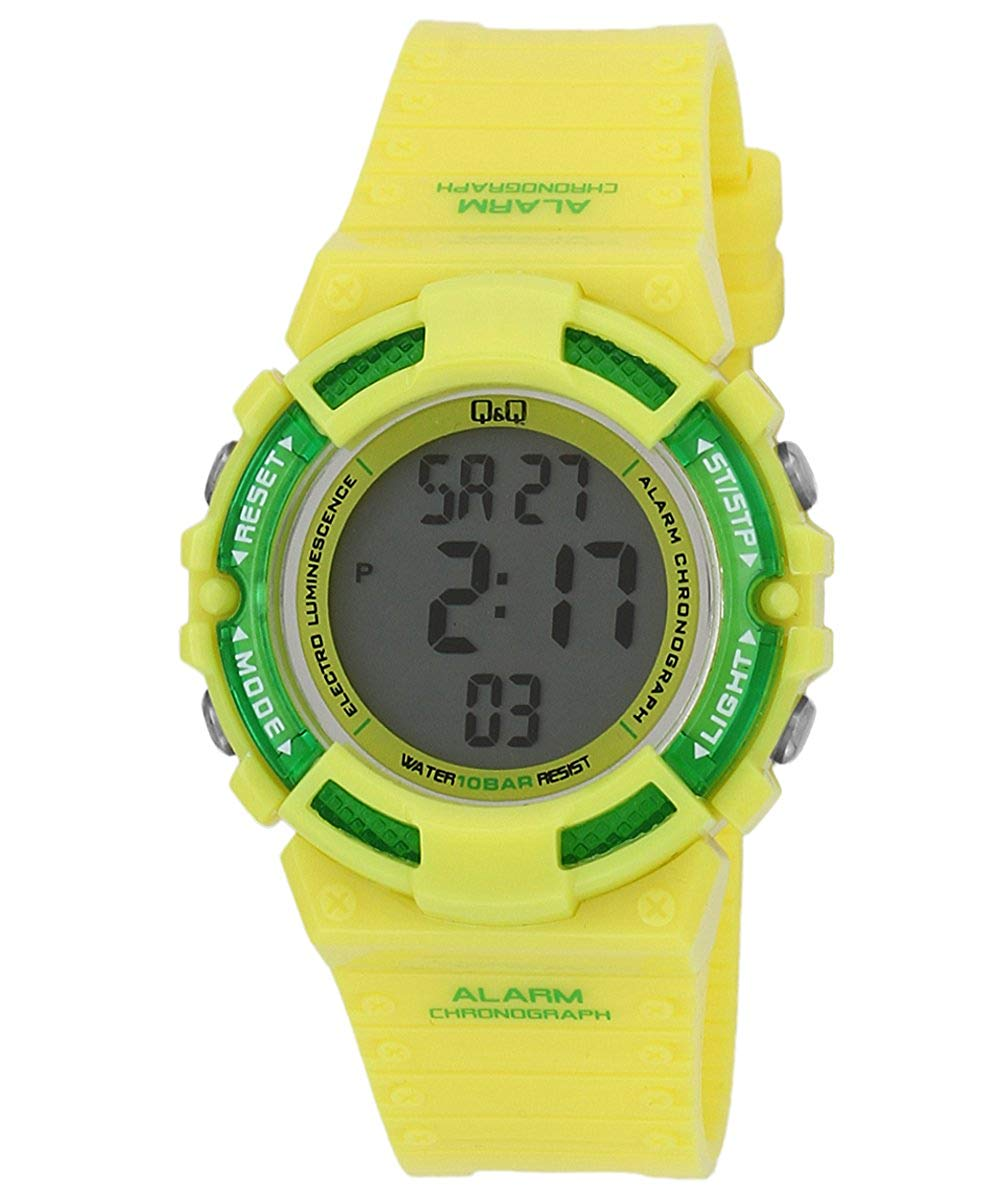 Q&Q Digital Black Dial Children's Watch - M138J006Y get best offers deals free and coupons online at buythevalue.in