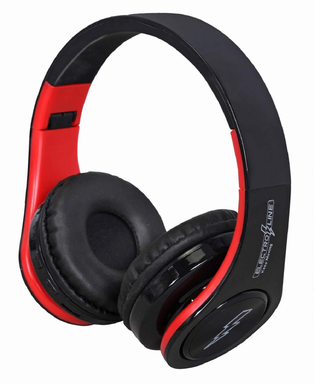 Electroline TM-062 Stereo Over-Ear Bluetooth Headphone with Mic
