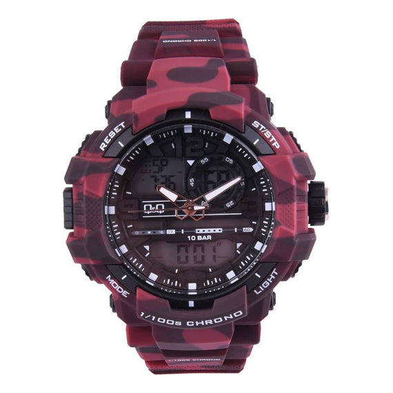 Q&Q Analog Digital Black Dial Watch for Men - GW86J007Y get best offers deals free and coupons online at buythevalue.in