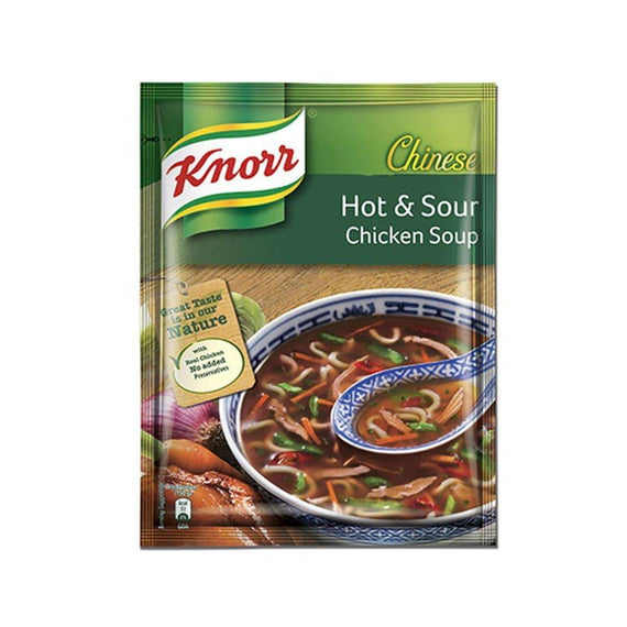 Knorr Chinese Hot & Sour Chicken Soup 44 gm - Buythevalue.in