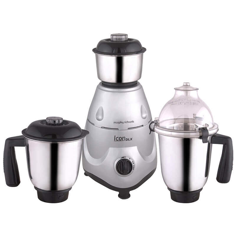 Morphy Richards Icon Dlx 750 Watts Mixer Grinderget best offers deals free and coupons online at buythevalue.in