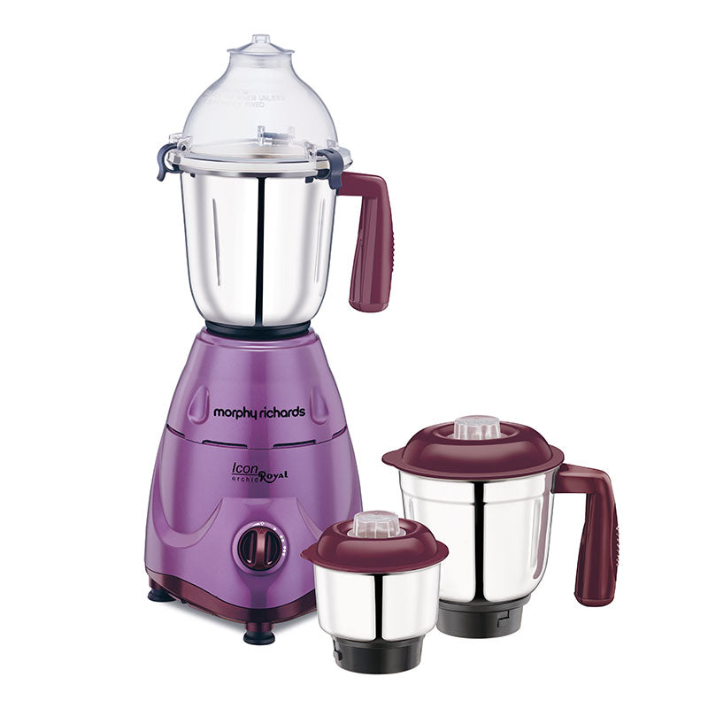 Icon Royal - Orchid 600W Mixer Grinderget best offers deals free and coupons online at buythevalue.in