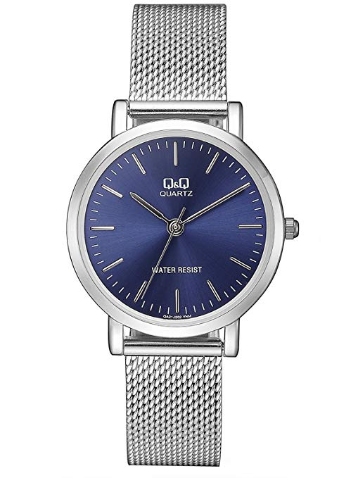 Q&QLadies Analog Blue Business Quartz Q&Q QA21J202Y get best offers deals free and coupons online at buythevalue.in