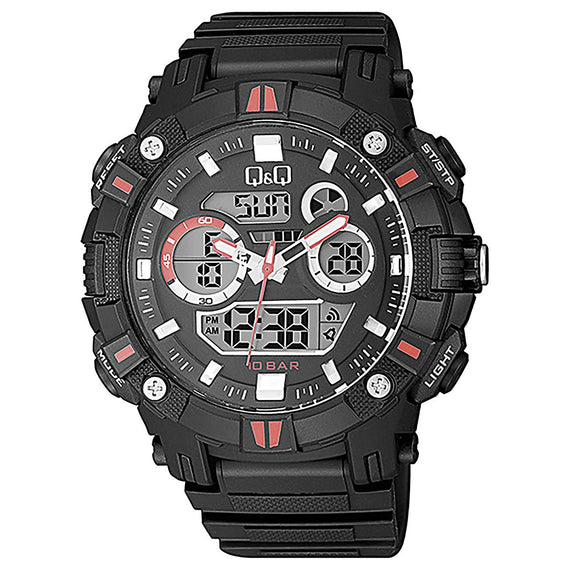 Q&Q Dual Time Analog-Digital Watch For Men - GW88J003Y get best offers deals free and coupons online at buythevalue.in