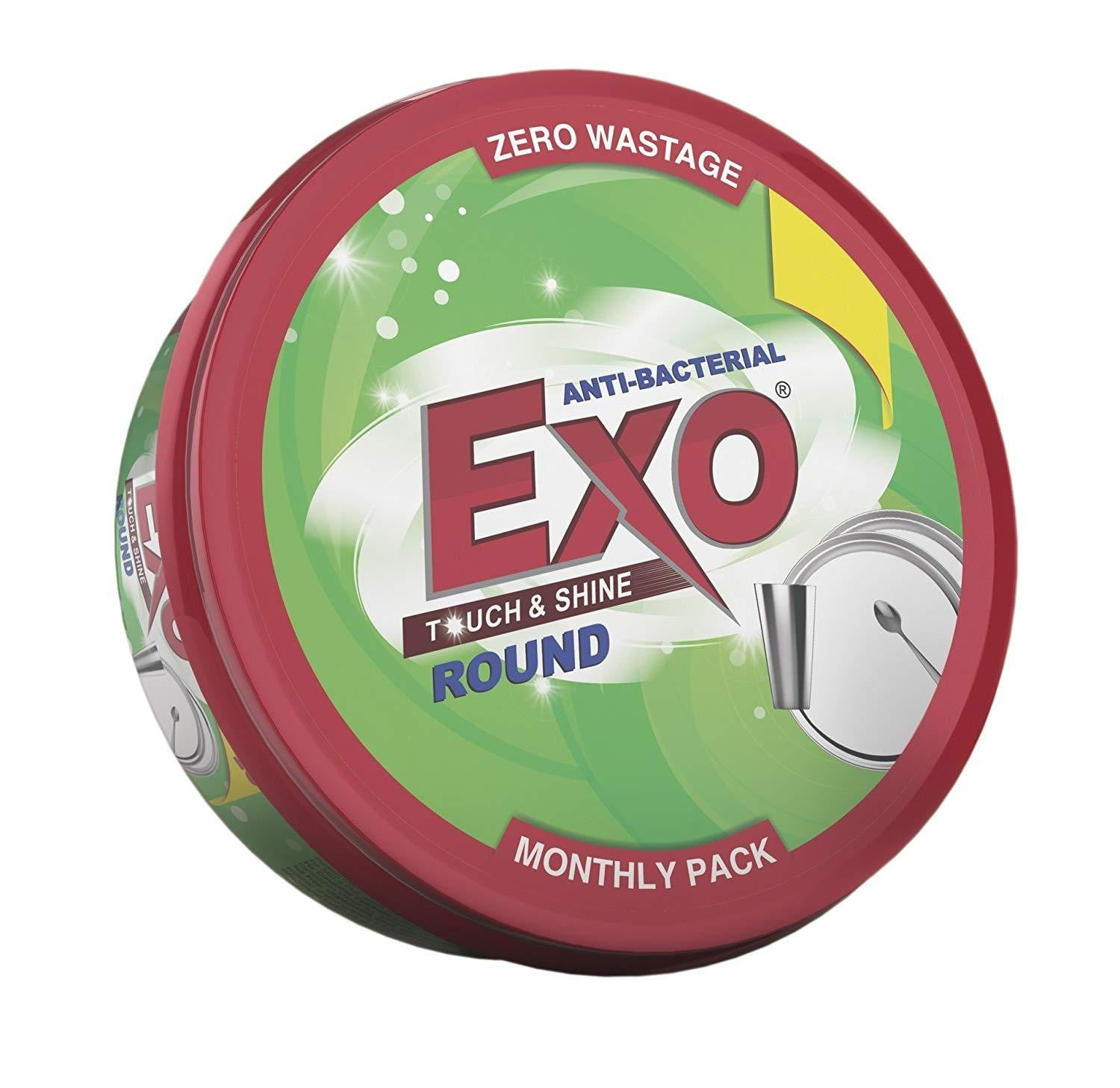 Exo Round Dish Shine 250 gm get best offers deals free and coupons online at buythevalue.in
