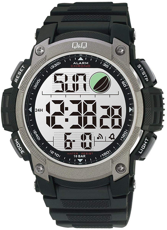 Q&Q Standard Dual Time Digital White Dial Men's Watch M119J002Y get best offers deals free online at buythevalue.in
