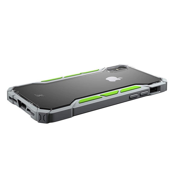 Element Case Rally Drop Tested case for iPhone Xs/X (Light Grey/Lime) get best offers deals free online at buythevalue.in