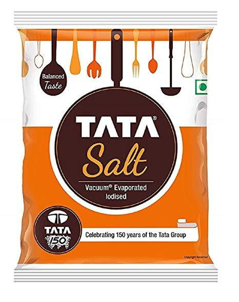 Tata Salt 1 kg Pouch - Buythevalue.in