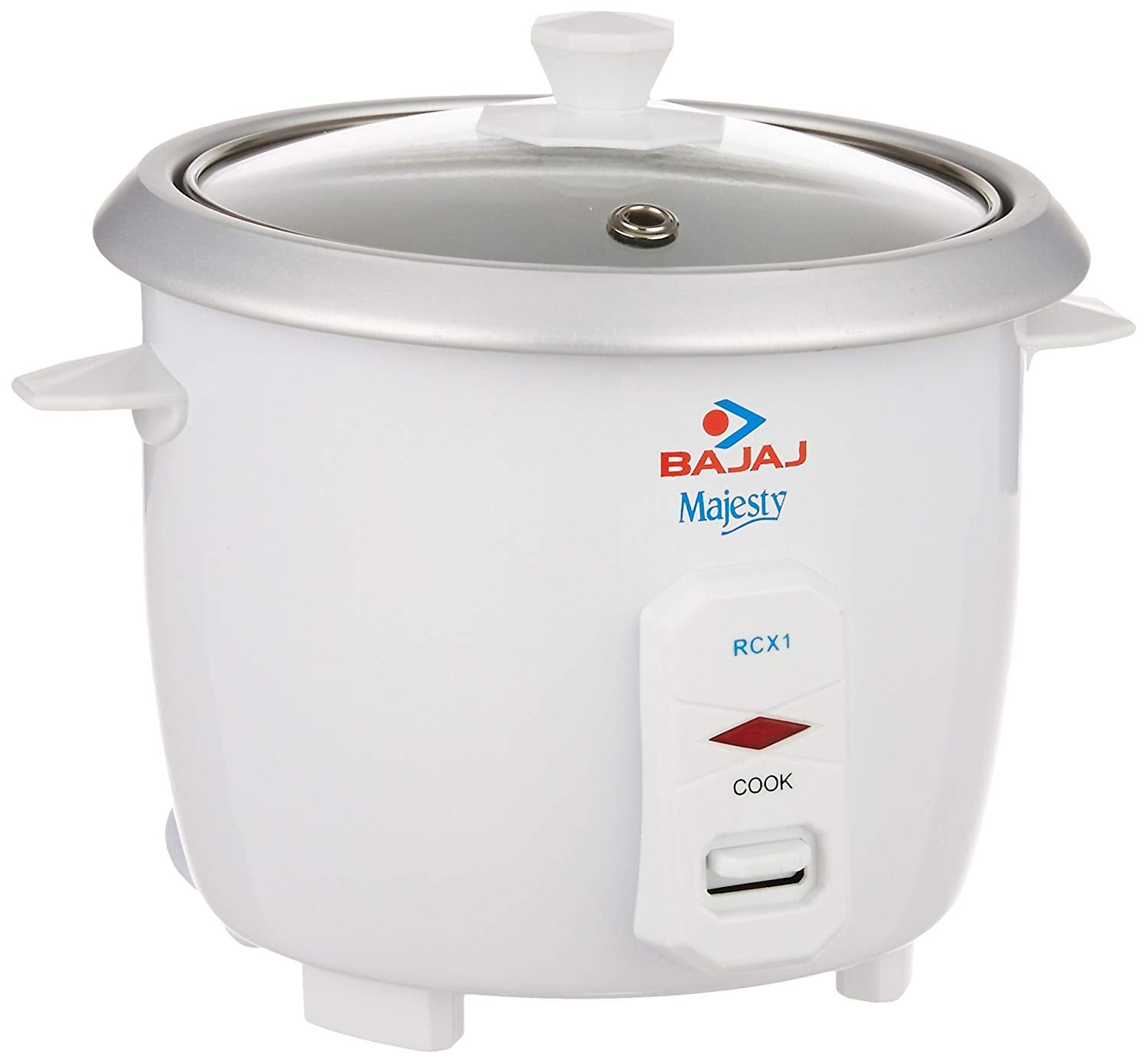 Bajaj Majesty RCX 1 Mini 0.4-Litre Multifunction Rice Cooker Whiteget best offers deals free and coupons online at buythevalue.in
