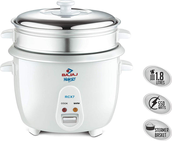 Bajaj Majesty New RCX 7 Multifunction Cooker get best offers deals free and coupons online at buythevalue.in