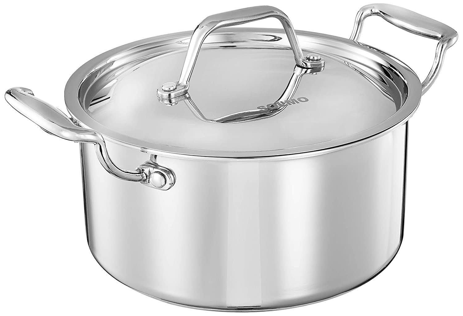 Treo Casserole 22 cm with lid- Triply