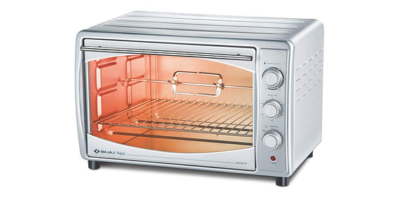 Bajaj Majesty 4500 TMCSS 45-Litre Oven Toaster Grill-Silverget best offers deals free and coupons online at buythevalue.in