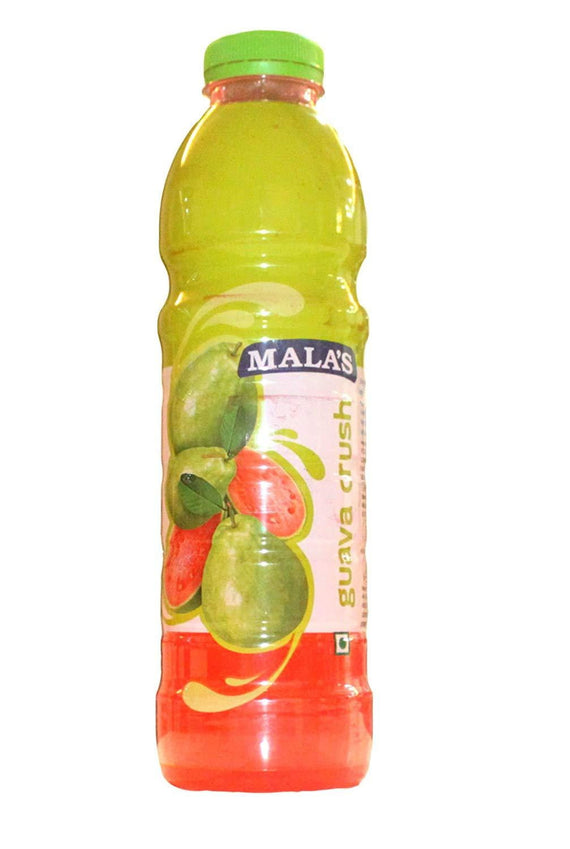 Mala's Guava Crush 750ml - Buythevalue.in