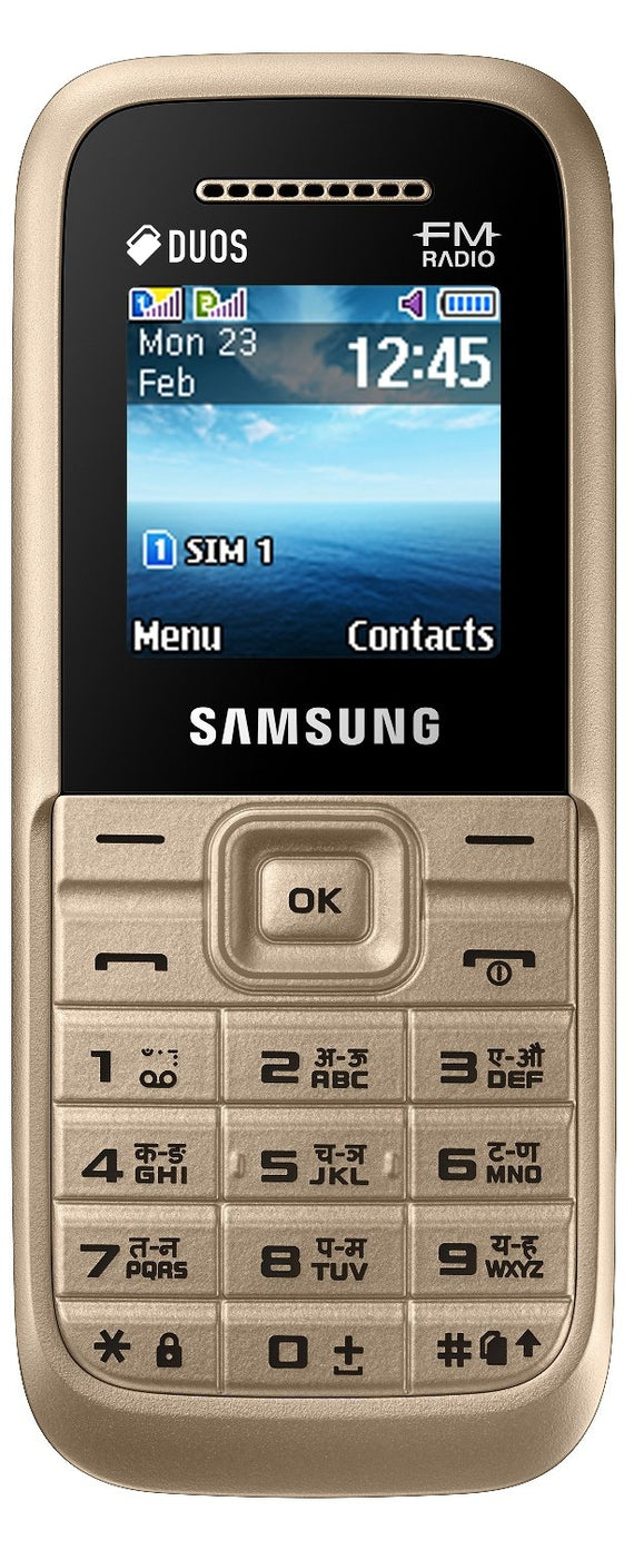 Samsung Guru FM Plus (SM-B110E/D, Gold) get best offers deals free and coupons online at buythevalue.in