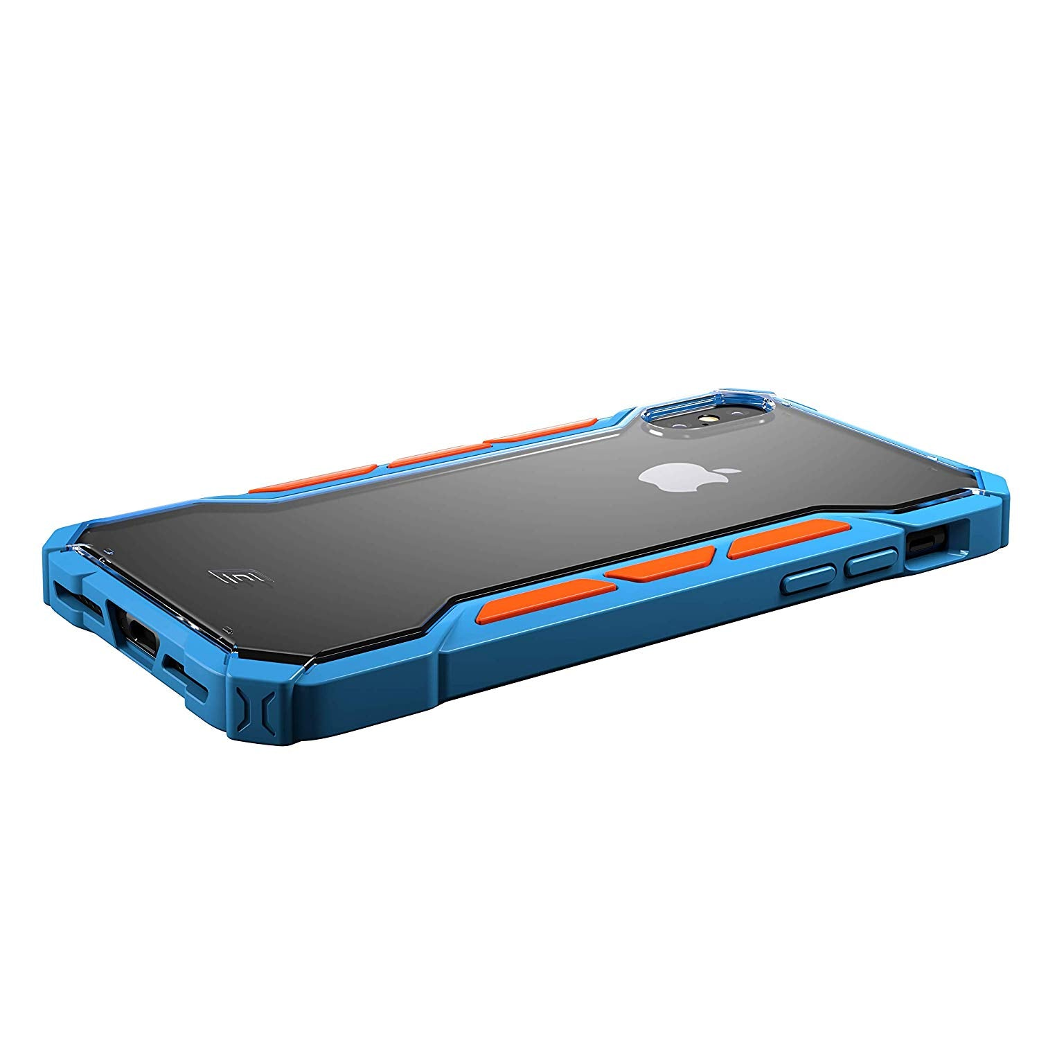 Element Case Rally Drop Tested case for iPhone Xs Max - Blue/Orange (EMT-322-195E-03) get best offers deals at buythevalue.in