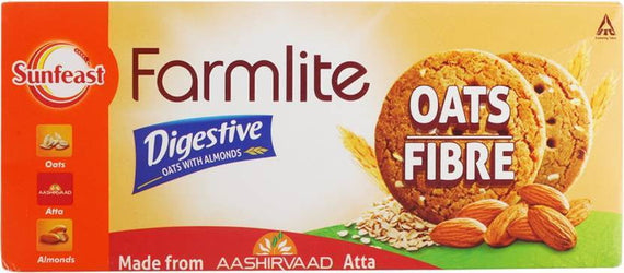 Sunfeast Farmlite Digestive Oats with Almonds 75 gm - Buythevalue.in