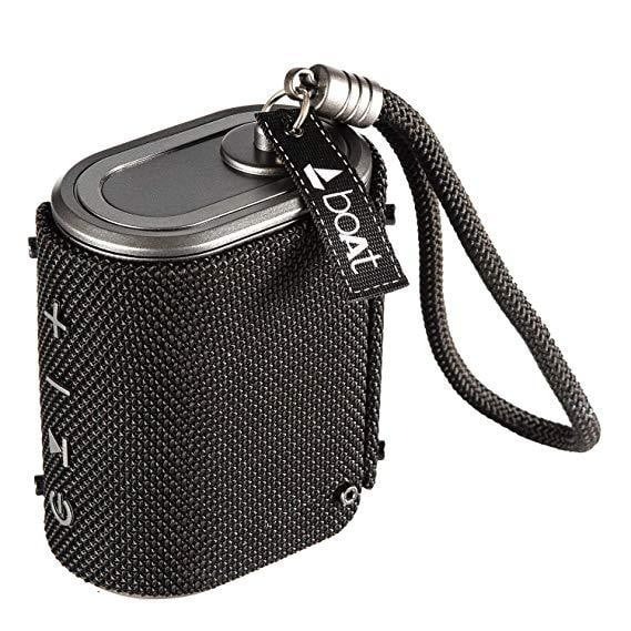 boAt Stone Grenade Portable Bluetooth Speakers (Charcoal Black) - Buythevalue.in