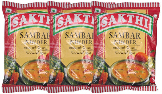 Sakthi Sambar Powder 100 gm Pack of 3 get best offers deals free and coupons online at buythevalue.in