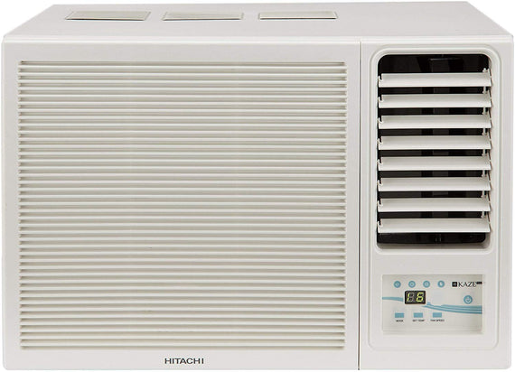Hitachi 1 Ton 3 Star Window AC (RAW312KWD Kaze Plus, White) get best offers deals free and coupons online at buythevalue.in