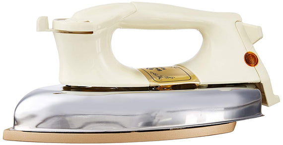 Bajaj DHX 9 1000-Watt Dry Iron-Ivoryget best offers deals free and coupons online at buythevalue.in