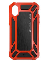 Element Case Roll Cage Back Cover Compatible For iPhone X-Red get best offers deals free online at buythevalue.in