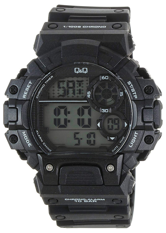 Q&Q Regular Digital White Dial Men's Watch - M144J001Y get best offers deals free and coupons online at buythevalue.in