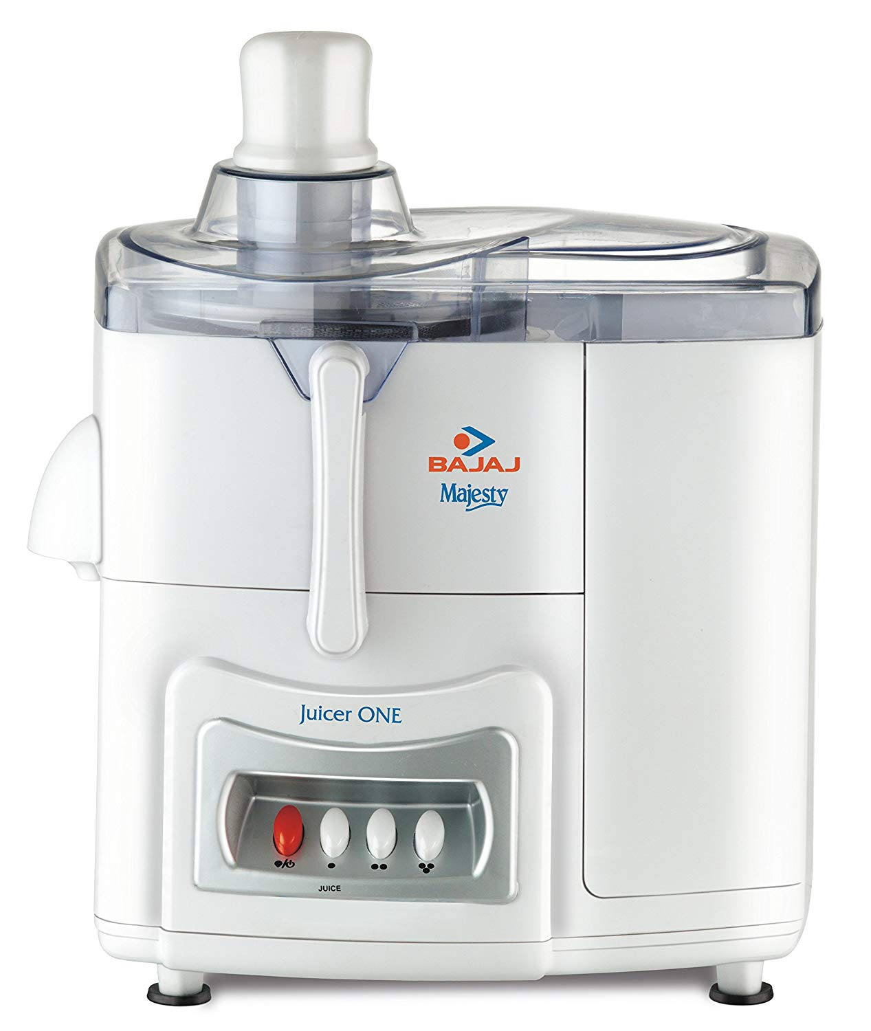 Bajaj Majesty One 500-Watt Juicer-Whiteget best offers deals free and coupons online at buythevalue.in