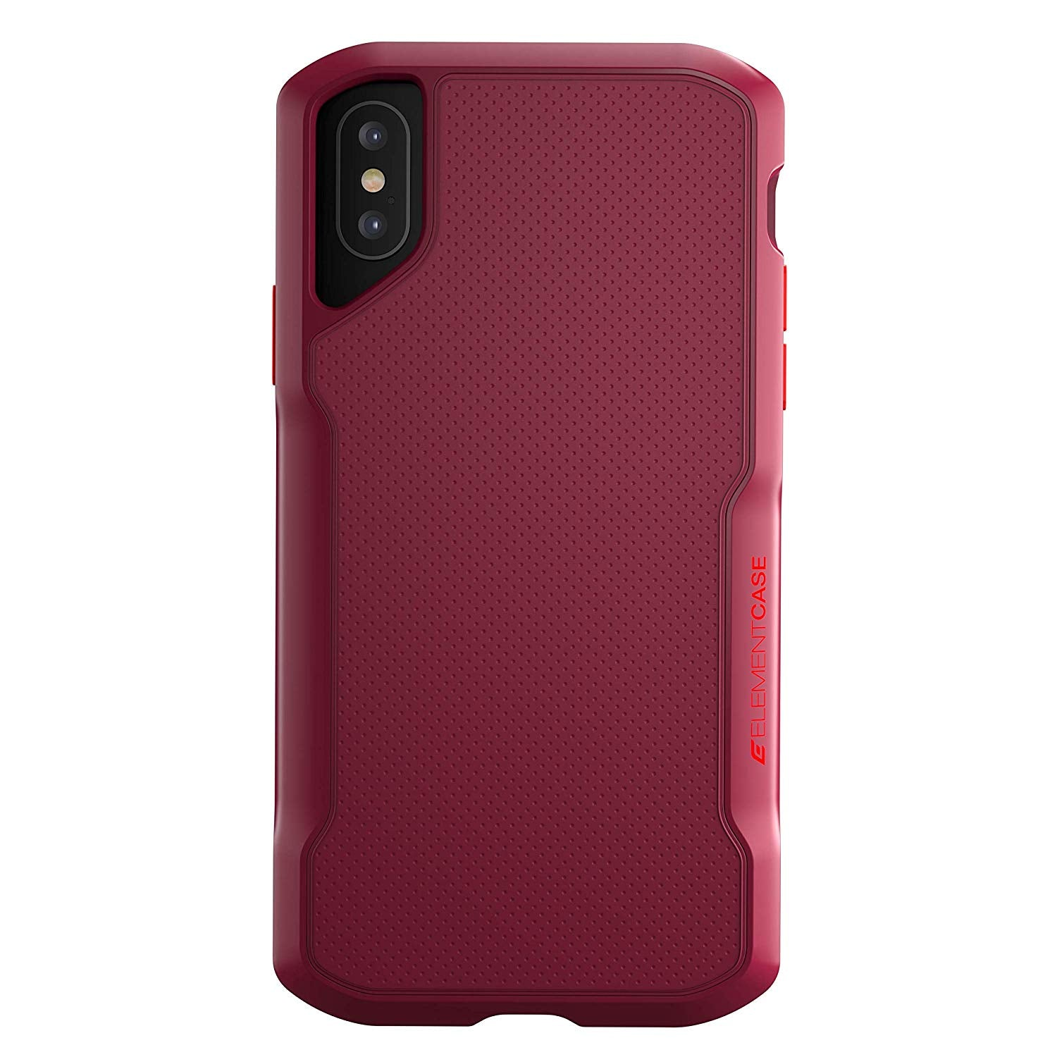 Element Case Shadow Drop Tested case for iPhone iPhone Xs/X (Red) get best offers deals free online at buythevalue.in