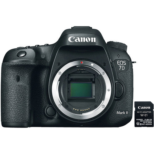 Canon EOS 7D Mark II DSLR Camera Body with WE1 WiFi Adapter Digital Camera get best offers deals free at buythevalue.in
