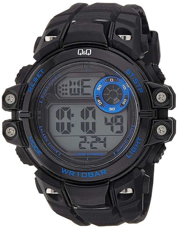 Q&Q Digital Grey Dial Men's Watches - M151J002Y get best offers deals free and coupons online at buythevalue.in