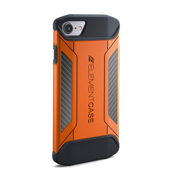 Element Case CFX Mil-Spec Drop Tested Case for Apple iPhone 7 - Orange (EMT-322-131DZ-22) get best offers deals