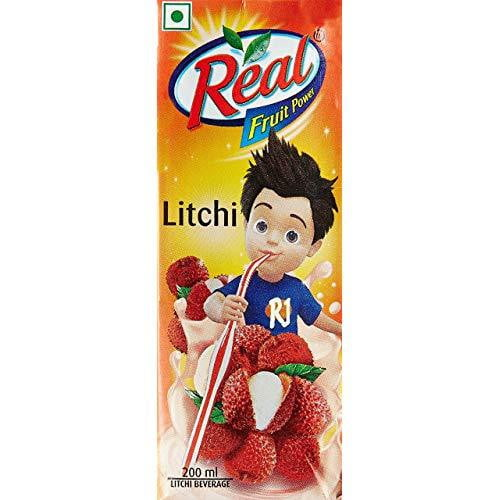 Real Fruit Power Litchi 200 ml - Buythevalue.in