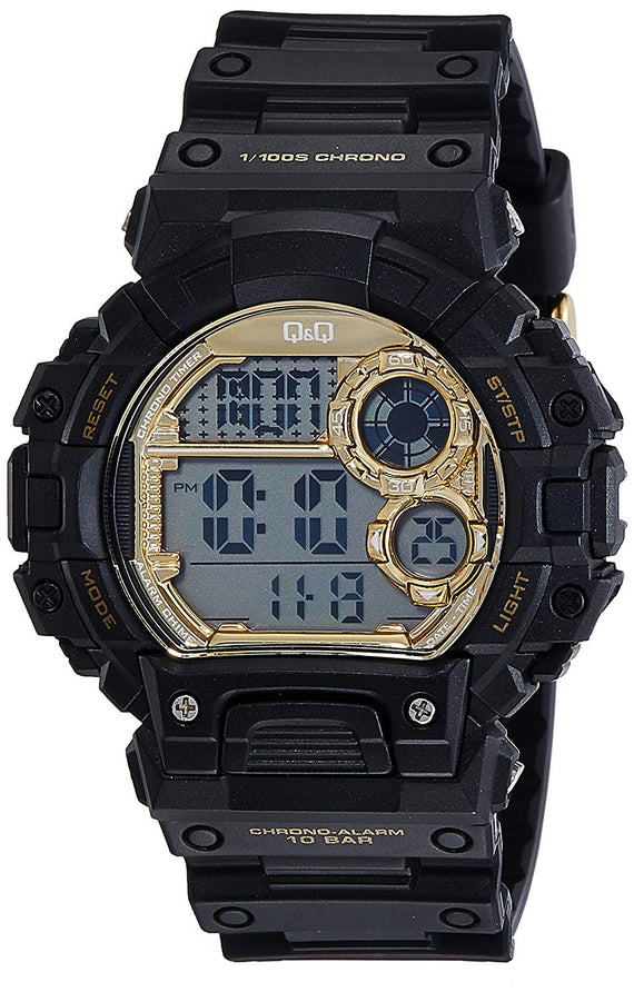 Q&Q Digital Watch For Men Black - M144J004Y get best offers deals free and coupons online at buythevalue.in
