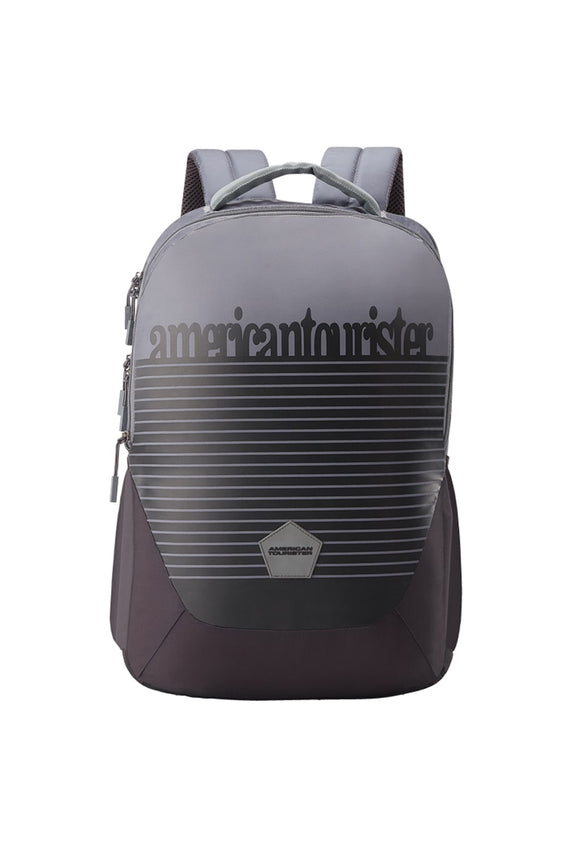 American Tourister Turk 03 Backpack Travel - Black/Grey