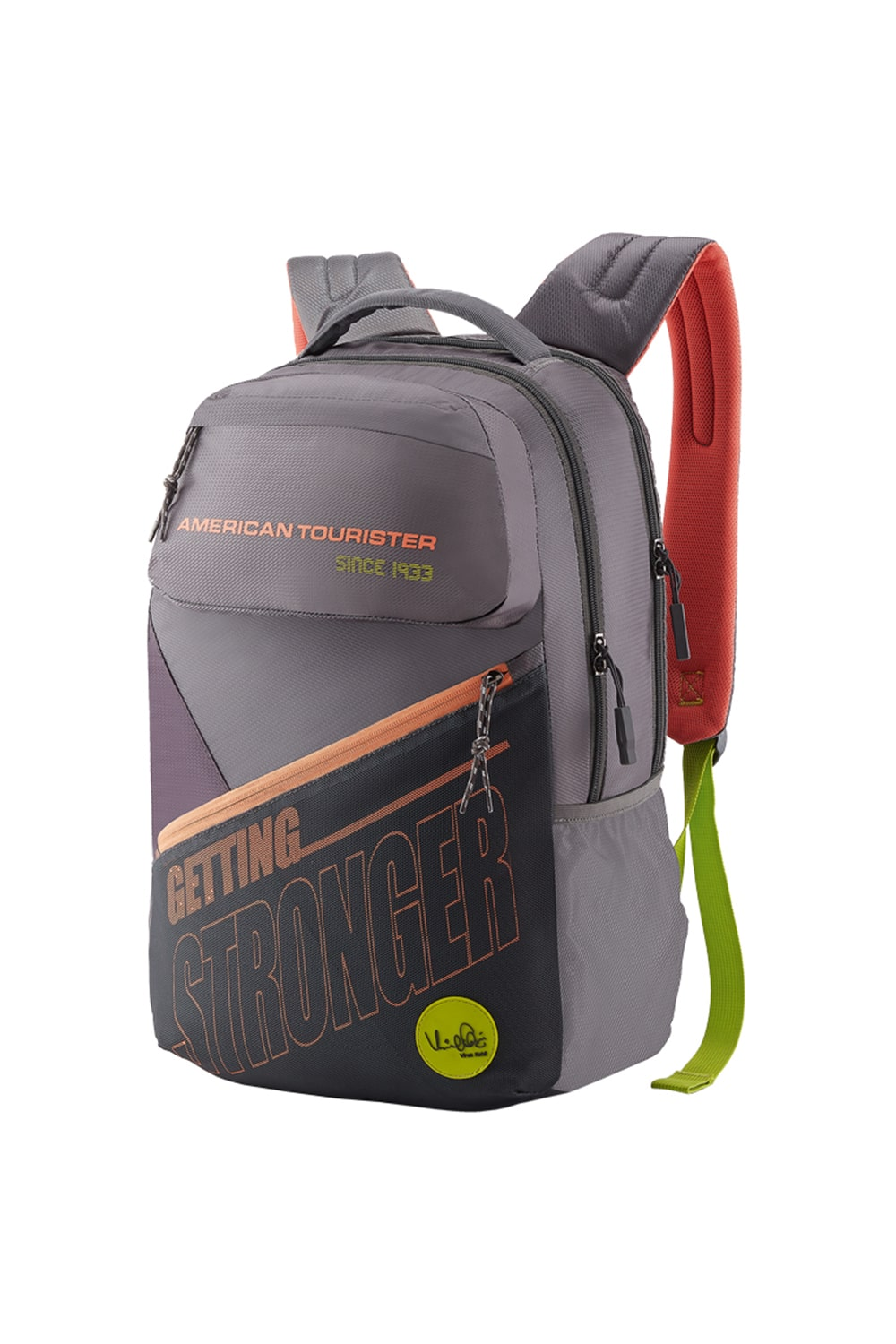 American Tourister Yooper 02 Backpack Travel - Grey