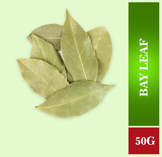 Bay Leaf (Briyani Leaf) 50 gm - Buythevalue.in