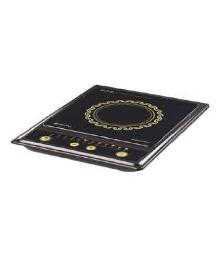 Bajaj 1200 W Splendid Induction Cooker Black get best offers deals free and coupons online at buythevalue.in
